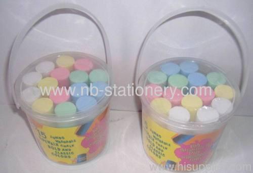 15pcs per bucket Sidewalk Chalk