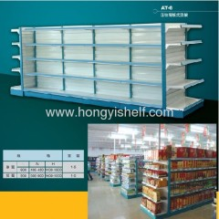 Press Bar Back Plated Type Goods Shelf