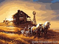 Digital printing art oil painting