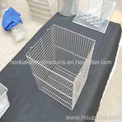 Fan guard storage basket