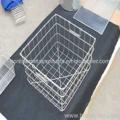 Storage wire mesh basket