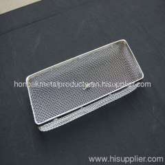 Storage wire mesh baskets