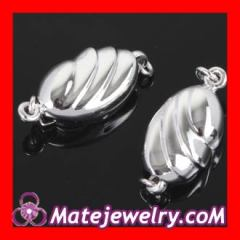 sterling silver fish hook clasp
