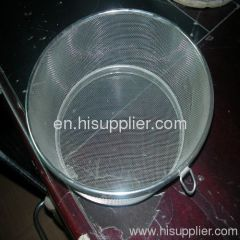 wire mesh basket round