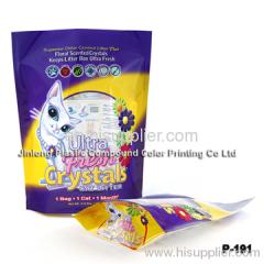 crystal cat food bag