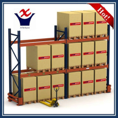 Warehouse shelf pallet racking