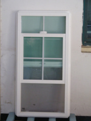Custom vinyl windows