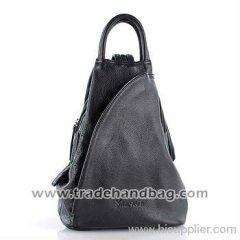 Lastest multi-function leather casual wholesale handbag