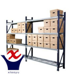 Light duty steel long span shelving rack