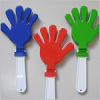 Hand shaped noise maker