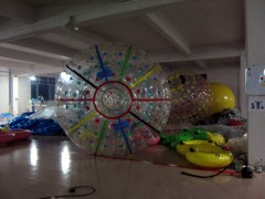 zorb ball for land and water