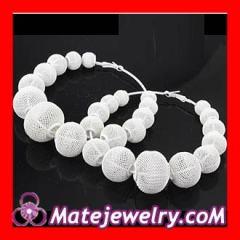 Mesh ball earrings Wholesale
