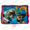 3d duck picture greeting card