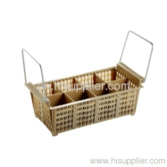 8-compartment curlery basket