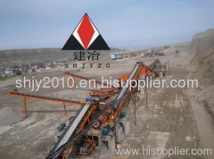 belt conveyor put sandstone in metal industry