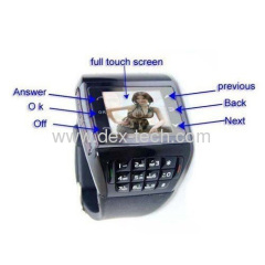 AVATAR ET-3 watch phone Quadband + Dual Sim Standby + Compass + Numberic Keypad + FM + 1.33 touch screen