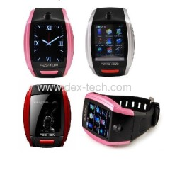F6 watch phone Compass Watch Phone Southe Korea The World`S First High-Definition Ultra-Thin Design