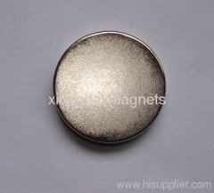 "Nickel Neodymium Disc magnets Rare Earth Grade N35-N52 size D1""X0.187"""