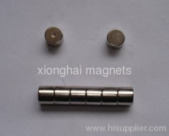Neodymium Disc Magnet Nickel plated Magnets Rare Earth N35 D5X4mm