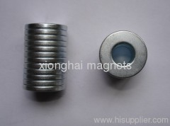 Zinc plating ring NdFeB magnets