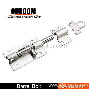 heavy duty barrel bolt