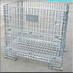 wire mesh container collapsible