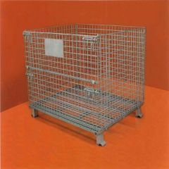 wire mesh container box cage