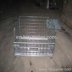 Foldable Wire Mesh container basket