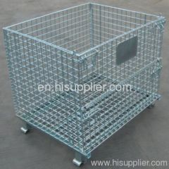 Foldable Wire Mesh Container 1000*800*840mm