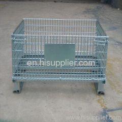 metal transfer basket / container