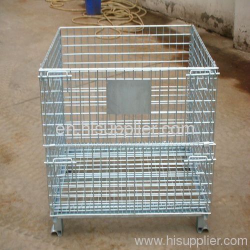 Transferable Container House: Transfer Baskets/wire Mesh Container From China