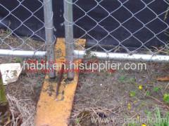fence base