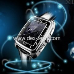 W688 watch mobile phone with stereo bluetooth headset,multi-language