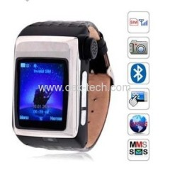 G3 watch phone Quadband + 1.49Inch Touch Screen + Built-in 2GB memory + Built-in Battery+BT headset built in watch baby