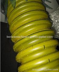 PE carbon spiral reinforing pipe making machine