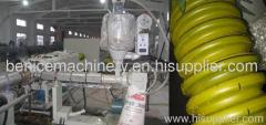 PE carbon spiral reinforcing pipe processing machine