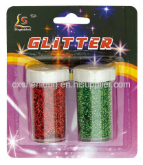 2 colors 12g glitter powder