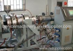 PE pipe making machine