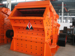 Long useing life impact crusher