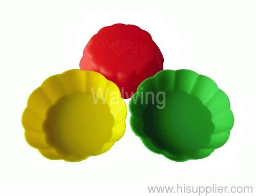 silicone cake mold muffin cup bakware