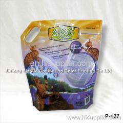 4kg cat litter packaging bag