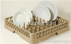 64-compartment plate&tray rack