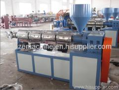 PVC trasparent hose extruder plant
