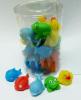 Plastic bath toy animals