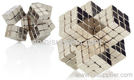 Magnetic cube toys