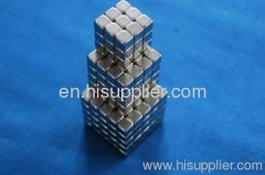Magnetic cube toys magnet block