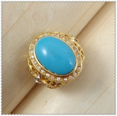 18k gold plated ring 1321028