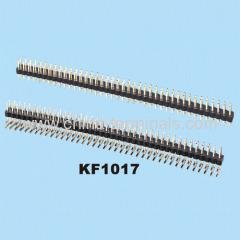 campo de cabeçalho pin fila dupla 2,0 milímetros
