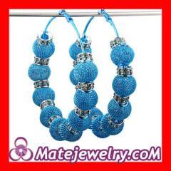 Basketball Wives mesh spacer earrings