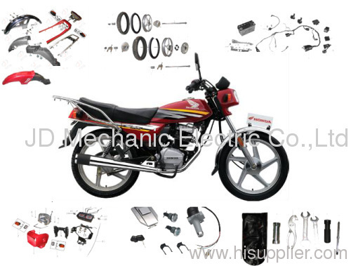 honda cgl125 motorcycle spare parts manufacturer from ...